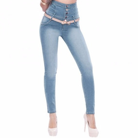 Jeans 70162 Costillero 3-13 Cintura Alta Seven Eleven