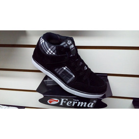 Tenis Ferma Skate Cano Alto Mod. B6901