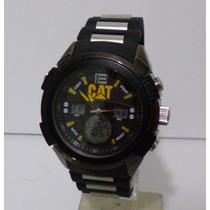 Reloj Hombre Cat Caterpillar Barato Excelente Negro Regalo