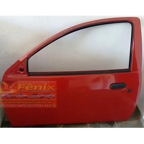 Porta Ford Ka Lado Esquerdo Vermelho 2008 Até 2013