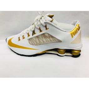 2a4a4675350 Nike Shox R4 Superfly Verde - Tênis Nike para Masculino Branco no ...