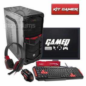 Pc Gamer Completo / Teclado , Mouse E Headset Gamer
