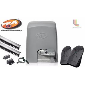 Kit Motor De Portão Eletrônico Deslizante Eurus 2000 1hp