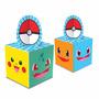 Caixa Para Lembrancinhas Pokemon, 8 Unidades (menor Frete)