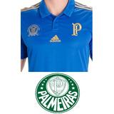 Camisa Palmeiras Centenário 100 Anos Comemorativa (azul)