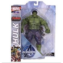 Juguete Marvel Select Hulk Vengadores 2 Edad De La Figura U
