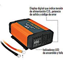 Inversor Convertidor De Corriente Auto1500 W 12 A 120 Volts