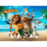 Kit Imprimible Para Tu Fiesta De Madagascar 3