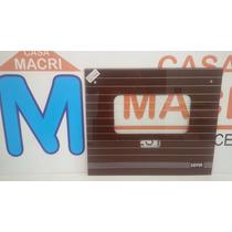 Vidrio Horno Escorial Sepia 50x42 Bordo C/agujeros 08067/0