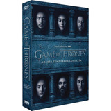 Box Dvd Game Of Thrones 6ª Temporada - Original - Lacrado