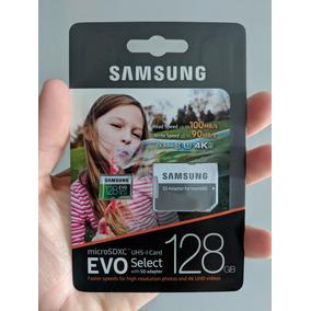 Cartao Sd Card Samsung Micro 128 Gb Evo Select Class 10 4k