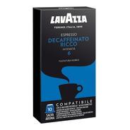 Cafe Capsulas Lavazza Decaffeinato Compatible Nespresso X10