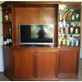 Modular En Cedro Con Posible Tv Led 42 Microsonic
