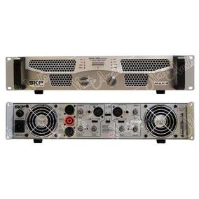 Skp Max G - 1220x Amplificador De Potencia Con Crossover