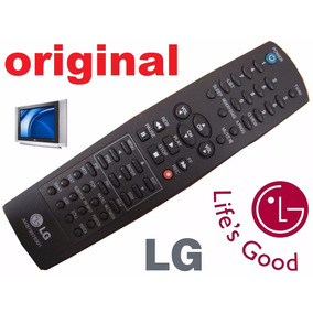 Controle Original Lg Tv Tubo 20 21 26 29 32 37 42 Super Slim