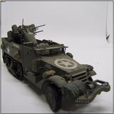 Miniatura Meia Lagarta M3 Us 2ª Guerra Escala 1/35 Tamiya