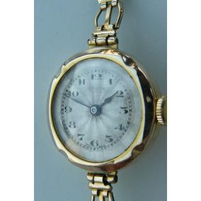 Reloj Rolex Antiguo Oro Solido Suizo Cuerda 15 Rubi Año 1954
