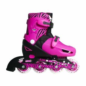 Rollers Stark Kids 5725 Protecciones Mochila Talle S 27-30