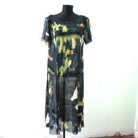 Vestido Largo Elegante Original De Diseño Unico