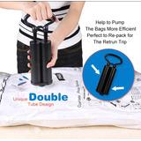 Bomba A Vácuo De Mão /bomba Dupla / Vac Bag