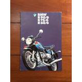 Catálogo Antigo Motocicleta Bmw R90/6; R75/6 E R 60/6