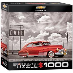 Rompecabezas Eurographics Chevrolet Fleetline 1948 1000 Pzas