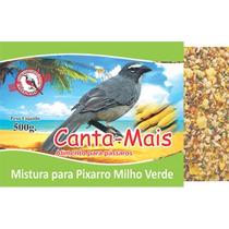 Alimento Ração Mistura P/ Pixarro Milho Verde Canta Mais10kg