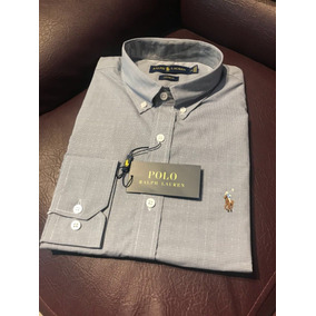 Camisa Social Polo Ralph Lauren Masculina Ralph Várias Cores 8ef02d471793f