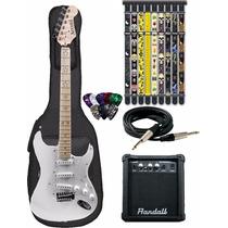 Guitarra Eléctrica Combo Amplif+funda+púa De Regalo