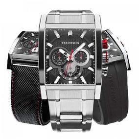 Relógio Technos Sports Masculino Troca Pulseira - Os2aaf/1p