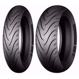 Par Pneu 110/70-17 + 150/60-17 Michelin Cb 250f Twister 2016