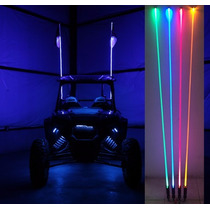 Antena Led Whip De 1.8 Mts 4x4 Rzr Polaris Maverick Can Am