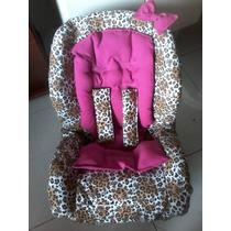 Capa Cadeira Auto Infantil (brinde Almofada) Todas Marcas*