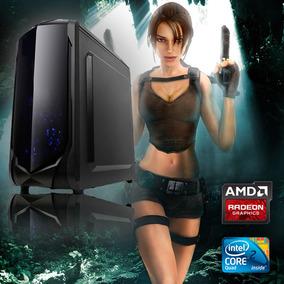 Pc Gamer Gigabyte Core 2 Quad 4gb Ddr3 Hd 6770 500w + Rápido