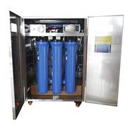Osmosis 1600 Gpd Ultravioleta Gabinete De Acero Filtro Agua