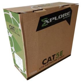Cable Utp Cat5e Explore Nc514 100mts 24awg Azul