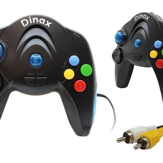 Joystick Consola De Videojuegos Para Tv Game Pad Dinax 200 Juegos Incorporados