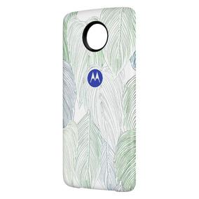Moto Mods Bateria Con Diseño De Hojas Motorola Para Moto Z