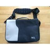 Maleta Bolsa Bolso Wii Para Guardar Consola Y Juegos