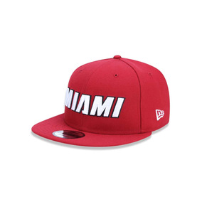 Boné New Era Snapback Miami Heat Vintage Importado Novo!! - Bonés no ... 224957559e8