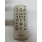 Control Remoto Sony Aiwa Sistema De Audio Genesis