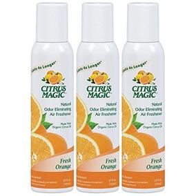 Cítricos Mágico 3-pack Natural Olor Que Elimina El Spray Amb