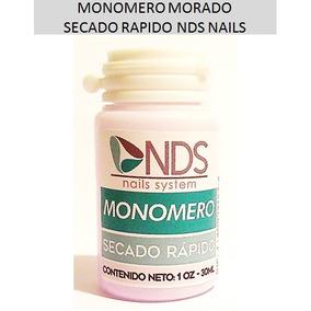 12 Monomeros Morados 1 Oz 30 Ml Secado Rapido Nds Al Mayor