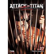 Manga, Kodansha, Attack On Titan Vol. 27 Ovni Press