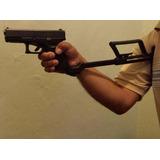 Culatín Airsoft Glock Táctico Stock