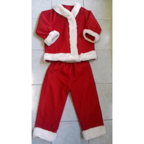Traje De Santa Claus Para Niño Talla 8-10 Anos Envio Gratis