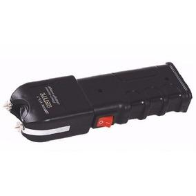 Arma Choque Taser + Push Dagger + Bastão Metal, Profissional