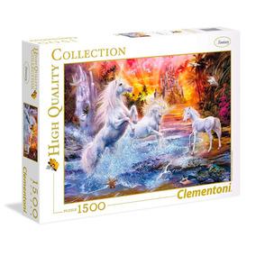 Puzzle Clementoni 1500 Pzas Wild Unicorns