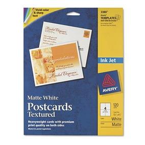 Postales De Textura, De Inyección De Tinta, Peso Pesado, 4-