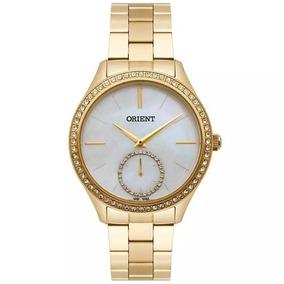 1be69264d6d Relógio Orient Feminino M004 Visor Madrepérola Branca - Relógios De ...